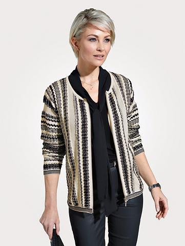 MONA Megztinis su aufwändiger Struktur