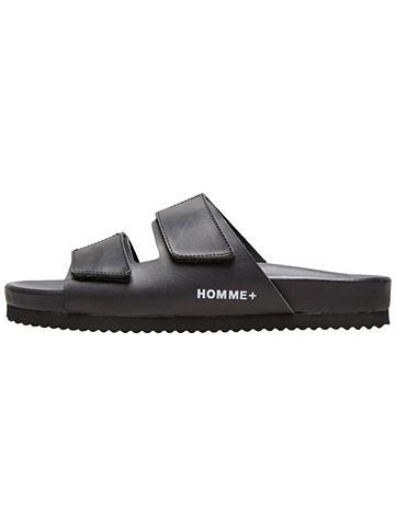 SELECTED HOMME Juodos spalvos sandalai
