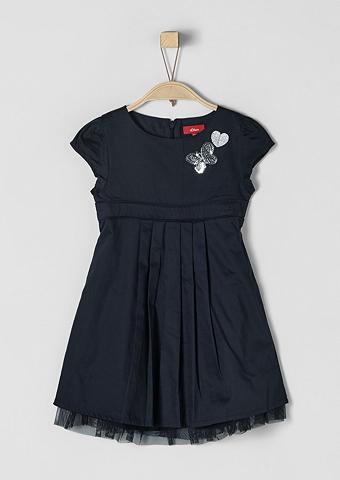 S.OLIVER RED LABEL JUNIOR Proginė suknelė su blizgiu papuošimu d...