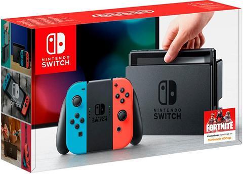 NINTENDO SWITCH Nintendo Šakotuvas Neon-Rot/Neon-Blau