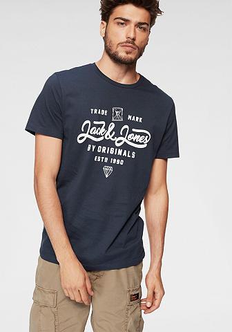 JACK & JONES Jack & Jones Marškinėliai »NEWSHAPE«
