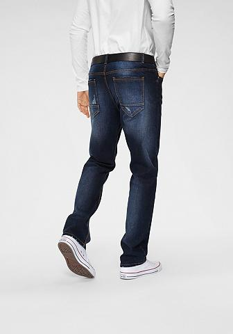 John Devin Straight-Jeans su Elasthan