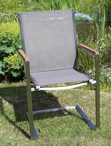 Poilsio kėdė »MACAO« Textil/Edelstahl ...