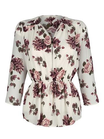 DRESS IN Suknelė in tunika su gražiais rožių ra...