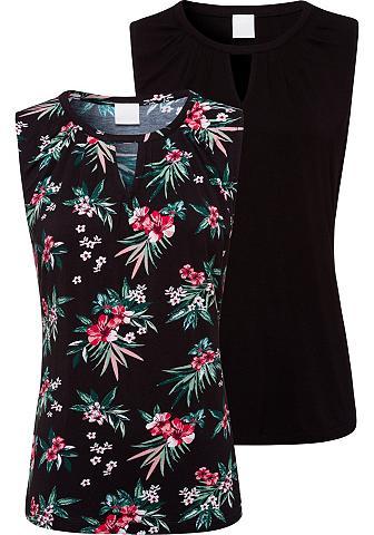 LASCANA Marškinėliai be rankovių (2 vienetai)