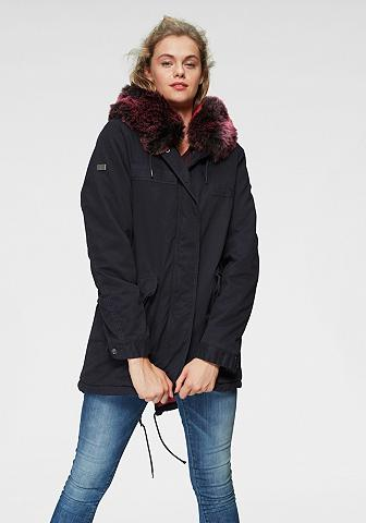 SUPERDRY Striukė »HAWK COLOURED FAUX dėl PARKA«...