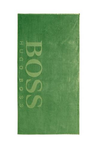 Hugo Boss Home Strandtuch »CARVED« (1-St) Samt-Jacqua...