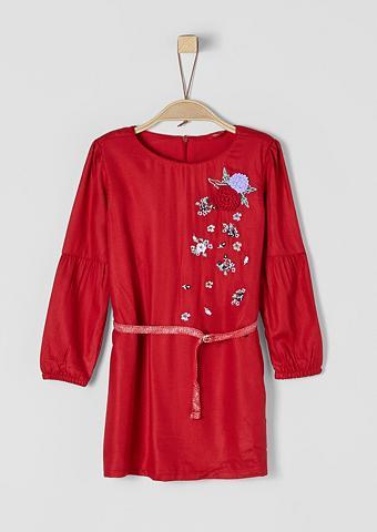 S.OLIVER RED LABEL JUNIOR Suknelė su Blumen-Applikationen dėl Mä...