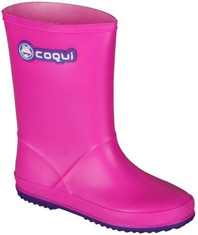 COQUI Guminiai batai in coolem Neon-Design