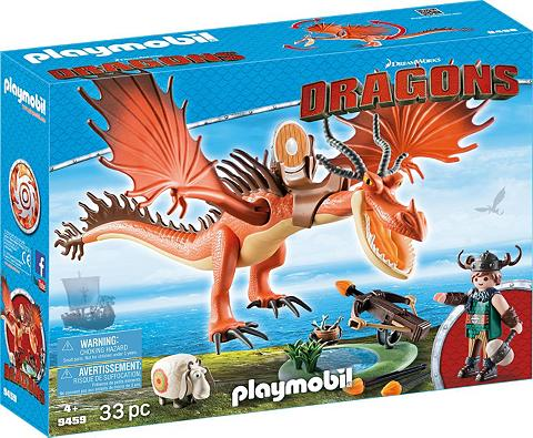 PLAYMOBIL ® Rotzbakke ir Hakenzahn (9459) »Drago...