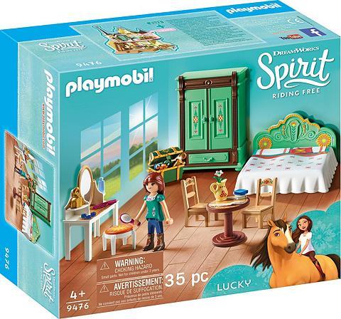 PLAYMOBIL ® Luckys miegamojo kambario baldai (94...