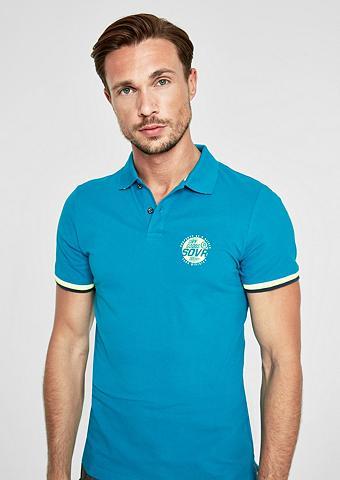 S.OLIVER RED LABEL Įliemenuotas: Polo marškinėliai su Kon...