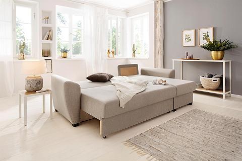 HOME AFFAIRE Kampinė sofa »Quin« su miegojimo funkc...