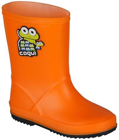 COQUI Guminiai batai su niedlichem Froschdes...