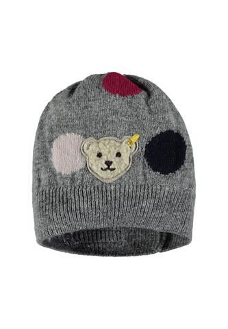 STEIFF Megzta kepurė