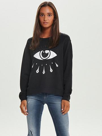 ONLY Raštas Sportinio stiliaus megztinis
