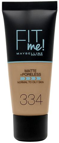 MAYBELLINE NEW YORK »FIT ME Matt&Poreless Make-Up« Make-Up...