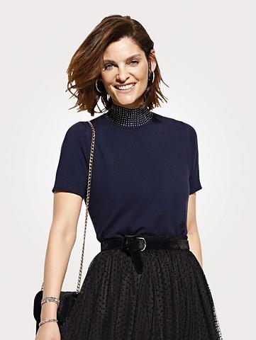 MONA Megztinis su stačia apykakle