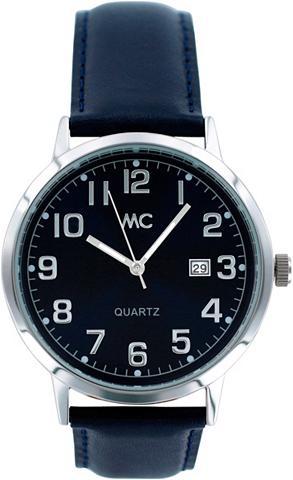MC Vyriškas laikrodis su blauem Ziffernbl...