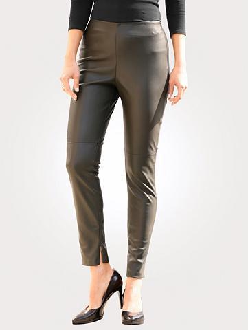 MONA Kelnės in stilingas dirbtinės odos