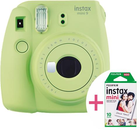 FUJIFILM Sofortbildkamera »instax mini 9 rinkin...