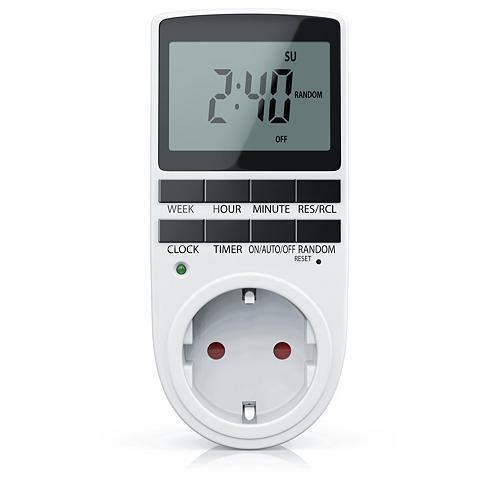 BEARWARE Digitale Zeitschaltuhr »LCD-Display / ...