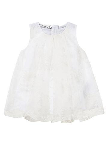NAME IT Siuvinėtas Tüll- suknelė