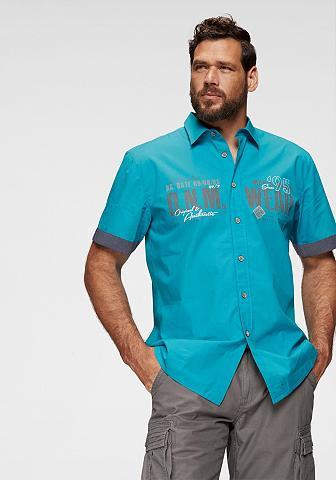 Man's World Marškiniai trumpom rankovėm su Chambra...