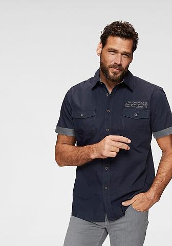 MAN'S WORLD Marškiniai trumpom rankovėm