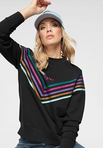 WRANGLER Sportinio stiliaus megztinis »Rainbow«...