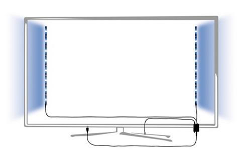 Paulmann LED-Streifen »bunt USB laikmena dimmba...