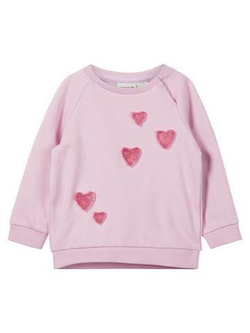 NAME IT Herz Sportinio stiliaus megztinis