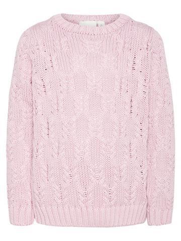 NAME IT Baumwoll Zopfstrick megztinis
