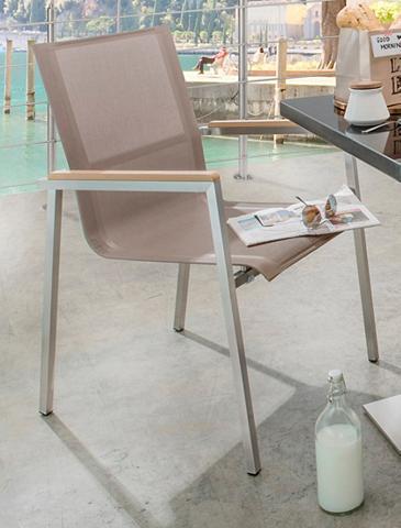 DESTINY Sodo kėdė »ALTOS II« Stahl/Textil stap...