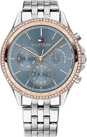 TOMMY HILFIGER Multifunktionsuhr »DRESSED UP 1781976«...