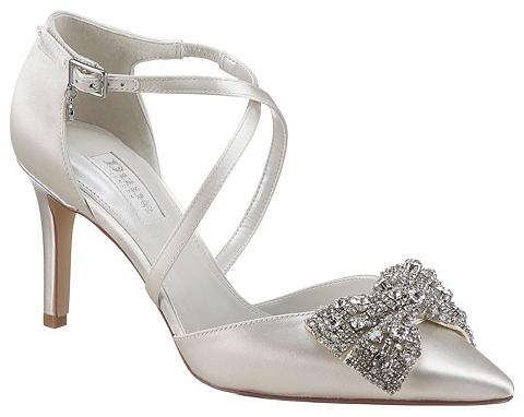 DUNE LONDON Bateliai su sagtimi »Jewelled bow open...