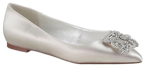 DUNE LONDON Balerinos »Pearl detail trim bridal fl...