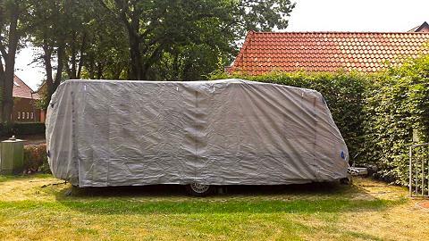GARDEN PLEASURE Wohnwagenschutzhülle »Gr. L« (L/B/H): ...