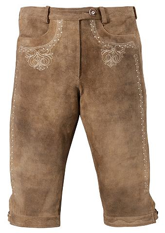 ALMSACH Odinės tautinio stiliaus kelnės 3/4 il...