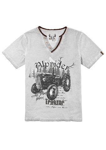 MARJO Marškinėliai Herren su Traktor-Motiv