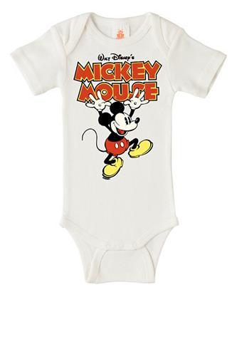 LOGOSHIRT Smėlinukas su Mickey Mouse-Print