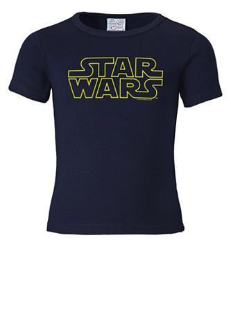 LOGOSHIRT Marškinėliai su Star Wars-Schriftzug »...