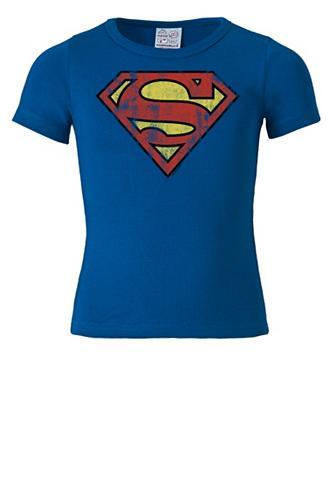 LOGOSHIRT Marškinėliai su Superman-Logo »- Super...