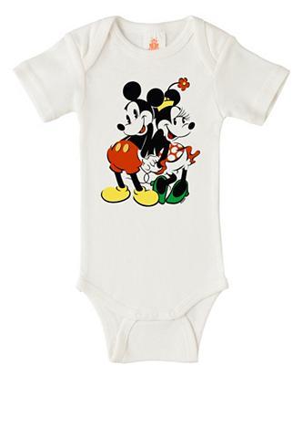 LOGOSHIRT Glaustinukė su Mickey & Minnie-Frontpr...