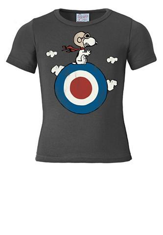 LOGOSHIRT Marškinėliai su Snoopy-Frontdruck »Sno...