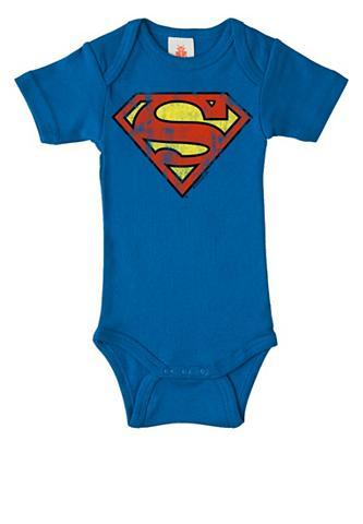 LOGOSHIRT Glaustinukė su Superman-Logo