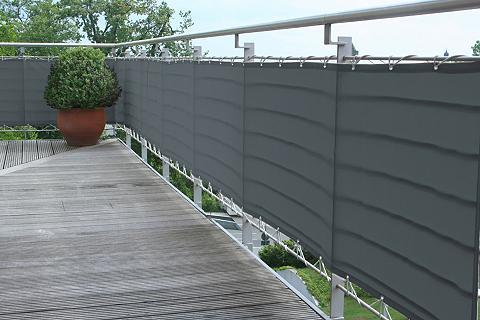 FLORACORD Balkono sienelė BxH: 500x75 cm anthraz...