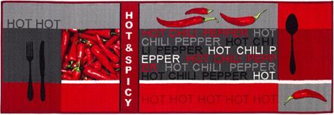Andiamo Küchenläufer »Hot Pepper« rechteckig a...