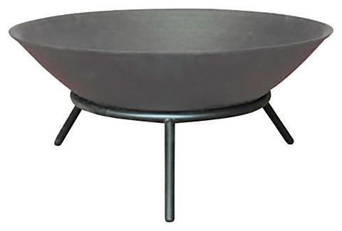 HOME DELUXE Ugniakuras »Grey Bowl« ØxH: 56x26 cm