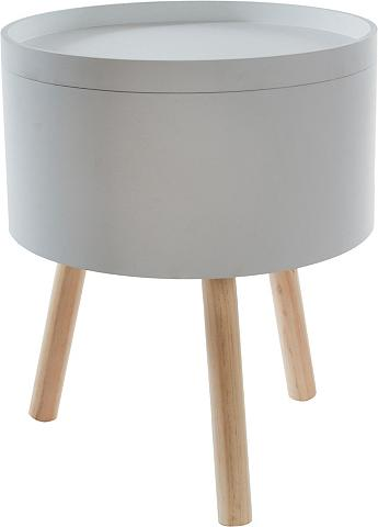 HOME AFFAIRE Pristatomas stalas »Luuk« su daiktadėž...